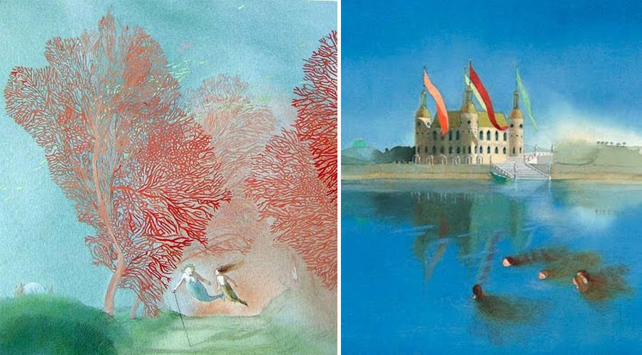 Иллюстрации Лизбет Цвергер, изображение из блога Натали Ратковски https://conjure.livejournal.com/