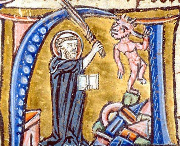 Augustine-refuting-heretic