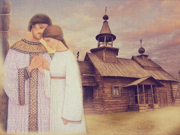 Свв. Петр и Феврония. 2совр.