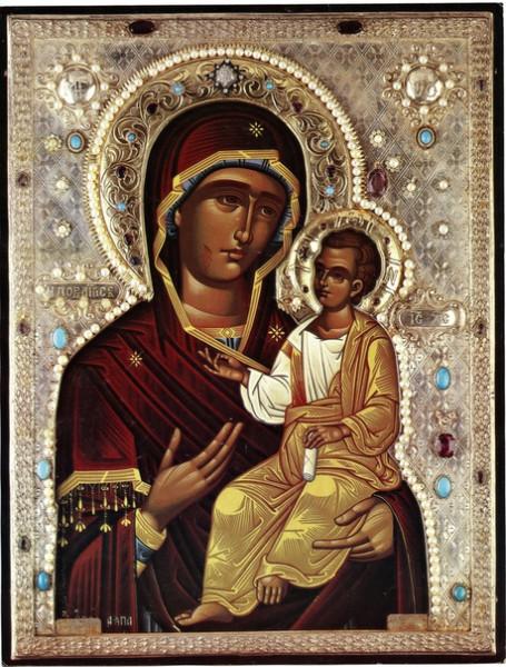 Иверская Мироточивая икона Божией Матери