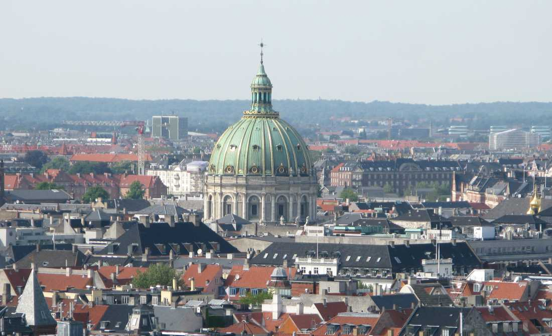 Копенгаген Мраморная церковь1.JPG