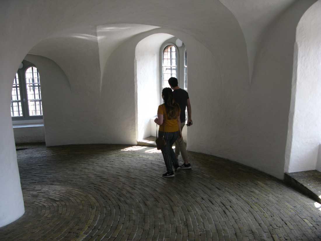 Усередині Круглої Вежі Копенгаген.JPG