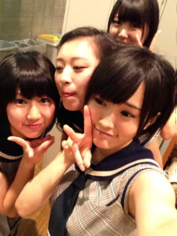 Sayanee with Kanchiru, Haru and Mirurun