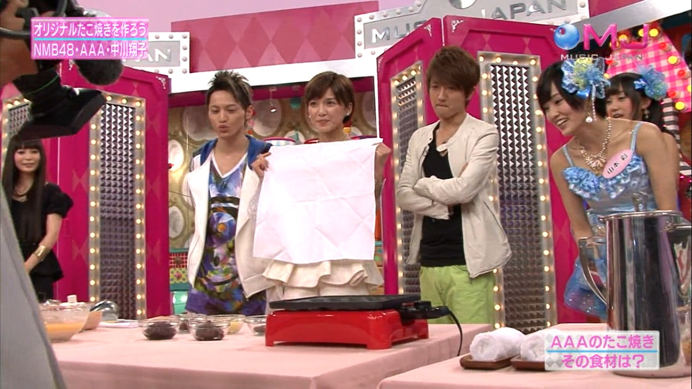 Nissy, Hidaka, Misako, Sayanee awws
