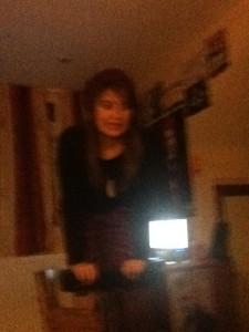 Sash on a stool