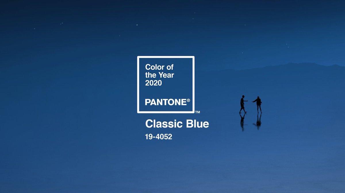 Рис.1 Pantone Classic Blue