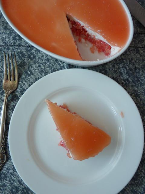 Английский чизкейк с грейпфрутом