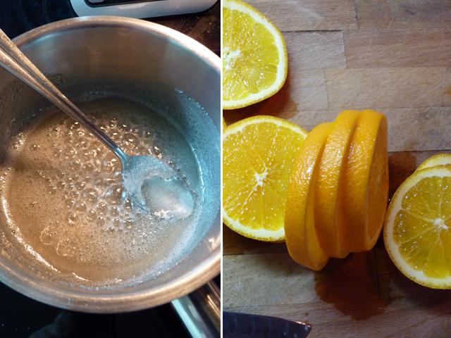 карамель и апельсины