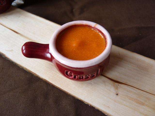 Соус из печеного сладкого перца с бальзамическим уксусом