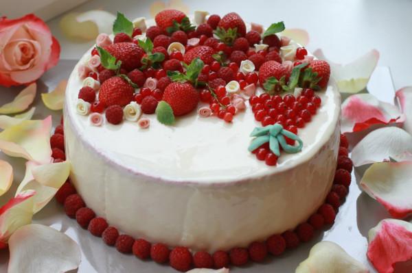 красивый торт на день рождения фото рецепты