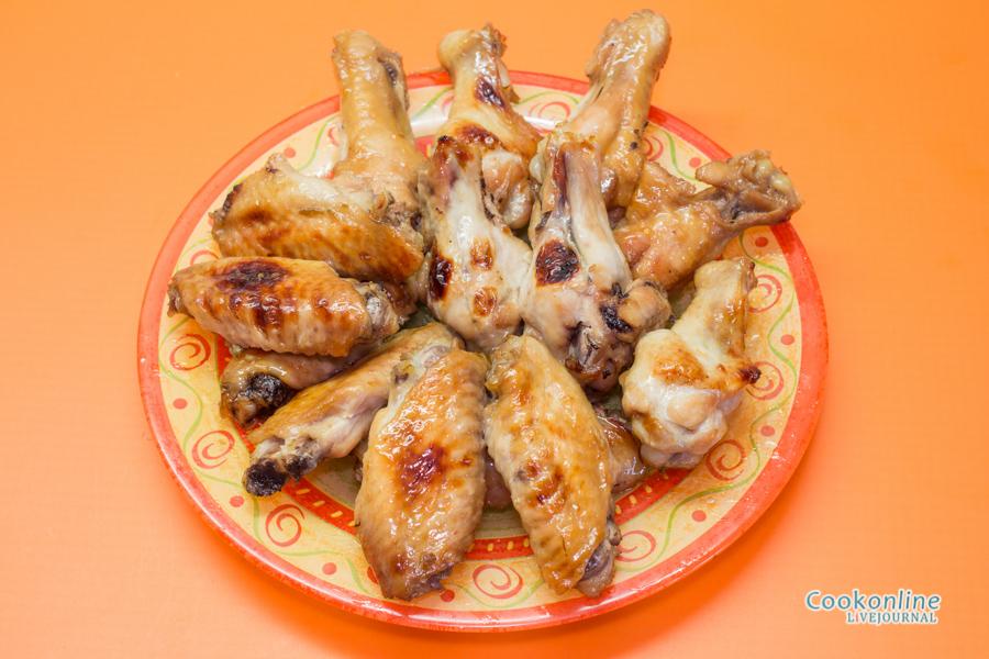 курица в сладком маринаде