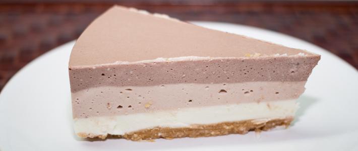 чизкейк три шоколада рецепт