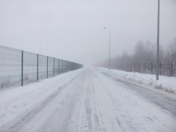 морозный туман