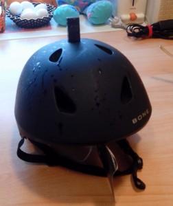 Вебка на шлеме