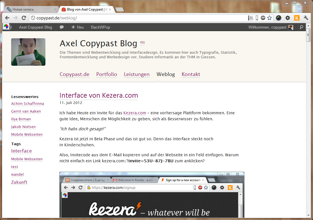 copypast-weblog
