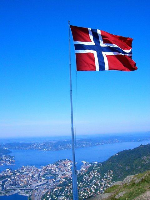 Скандинавские флаги фото № 2019466