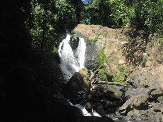 What a pretty waterfall, Corcavado