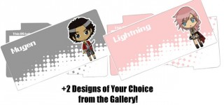 Comes with 2 Designs of your choice from my gallery!