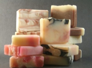 A selection of gorgeous soaps.