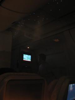 Night on Emirates Air