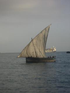 Dhow at Sail
