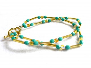 Guest Crafter: Gold Rush Bracelet