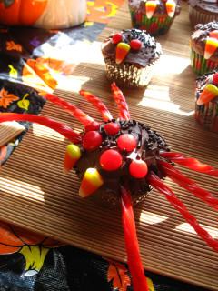 Arachnid Cupcake