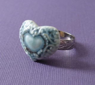 Cutest Heart Ring Ever