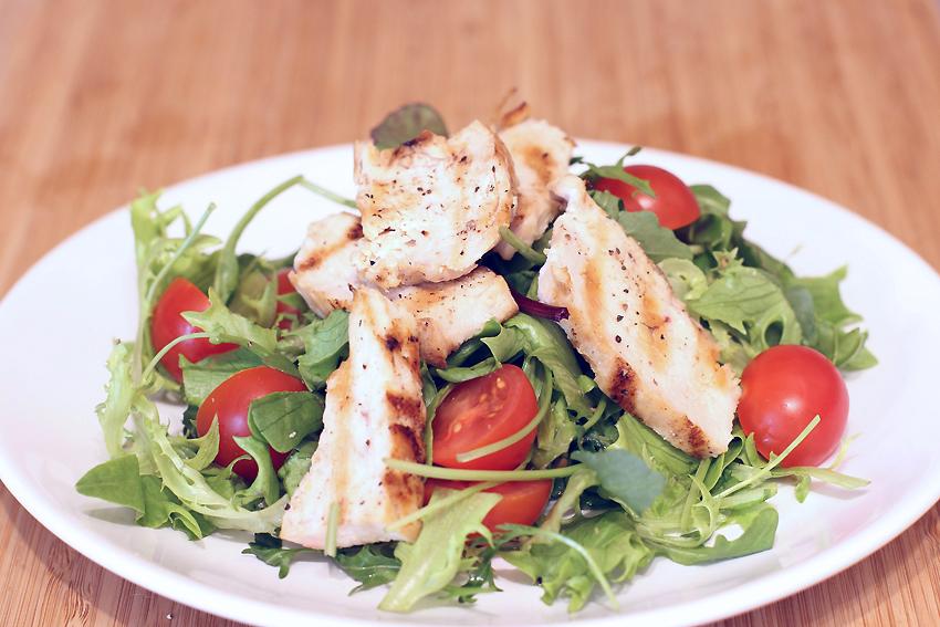 салат с белком