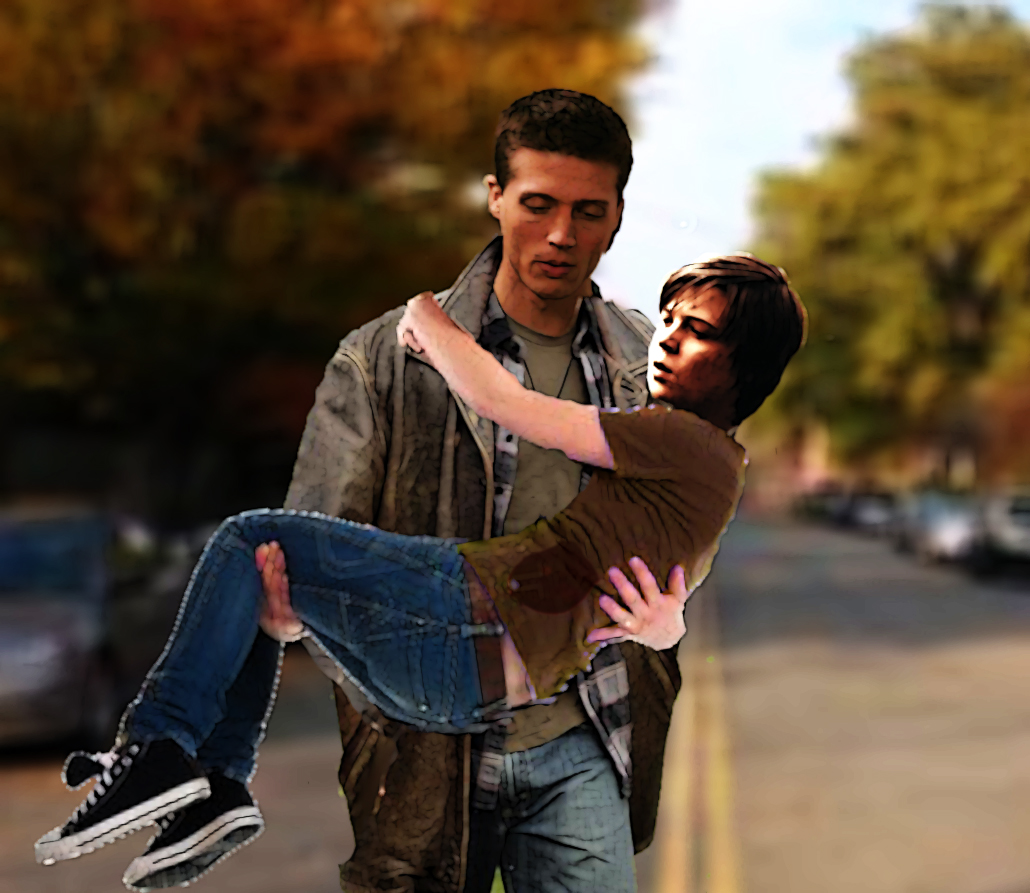 Dean Carrying Sam