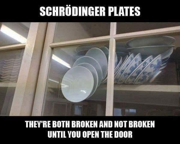 Schrödinger's Plates