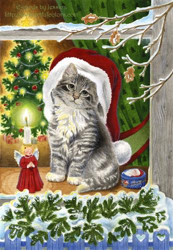 christmaskittenecard-vi