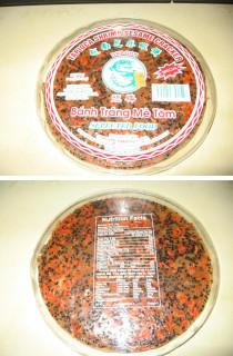 Tapioca Shrimp Sesame Cracker