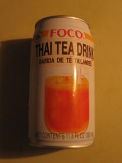 Thai Tea Drink