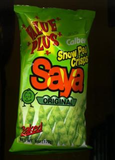 Snow Pea Crisps