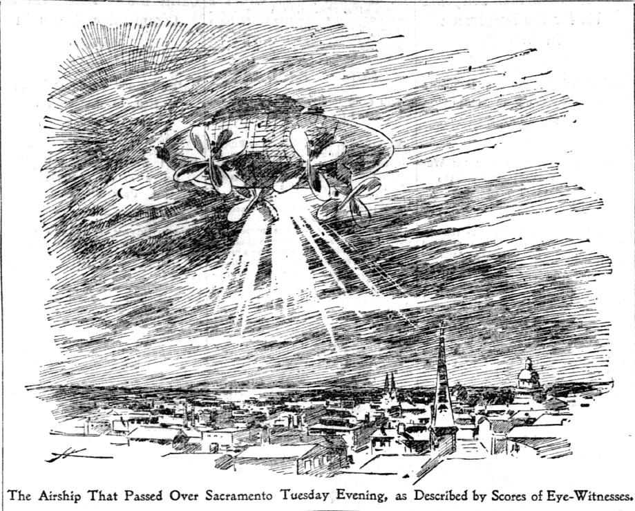 Strange Craft of The Sky (Image) (Edt) - The San Francisco Call 11-19-1896