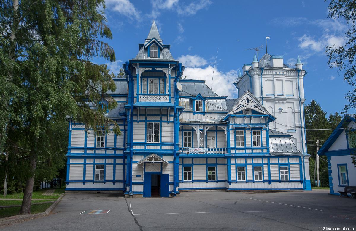 Ленинградская область. Усадьба-маяк Колчаново