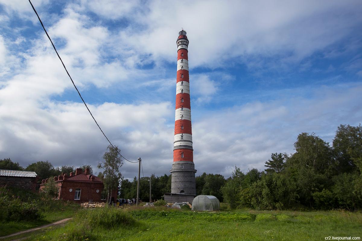 Ленинградская область.  Стороженский маяк