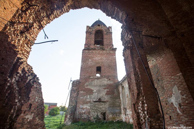 Султан-Салы. Разрушенная армянская церковь