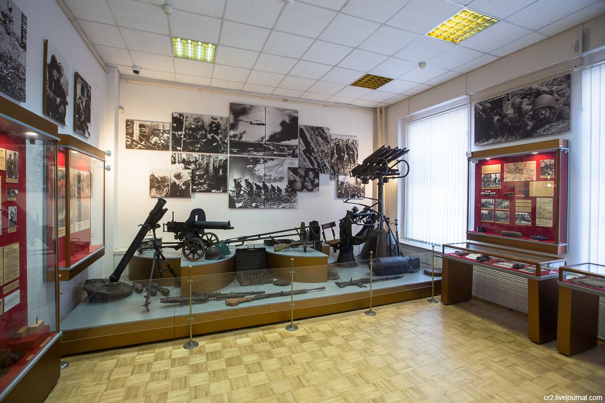 Старая Русса. Музей Северо-Западного Фронта