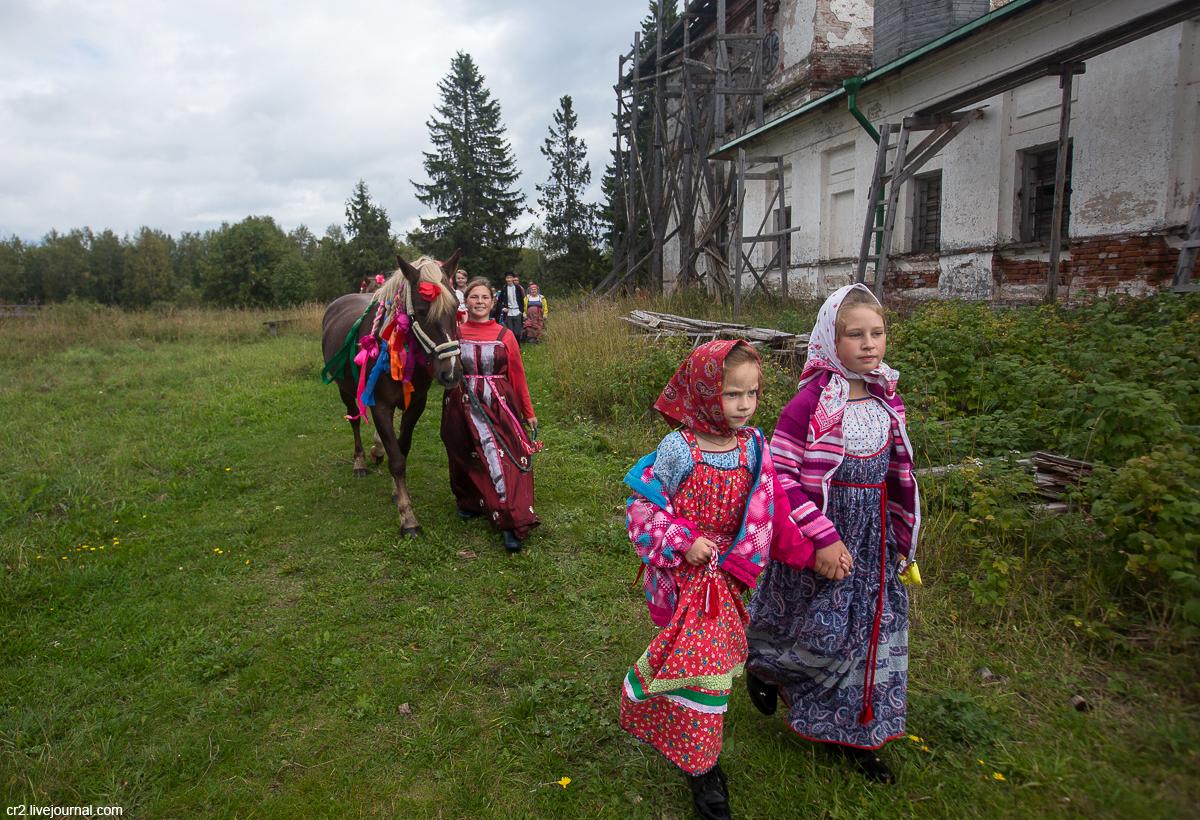 Архангельская область. Праздник лошади на Кенозерье