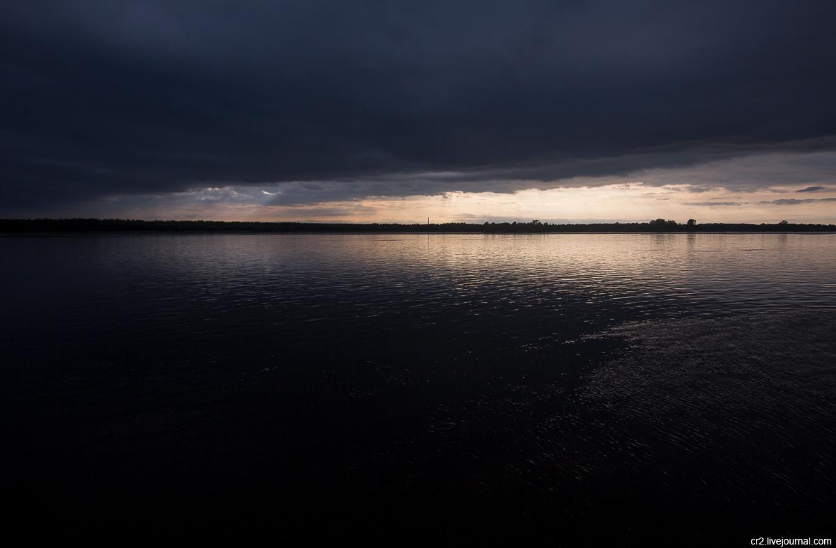 Архангельская область. Река Онега
