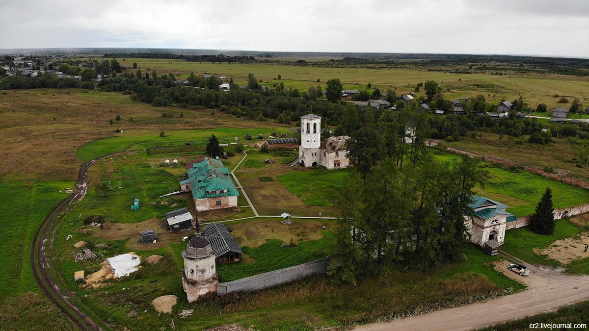 Архангельская область. Ошевенск. Часть 2: монастырь и деревни