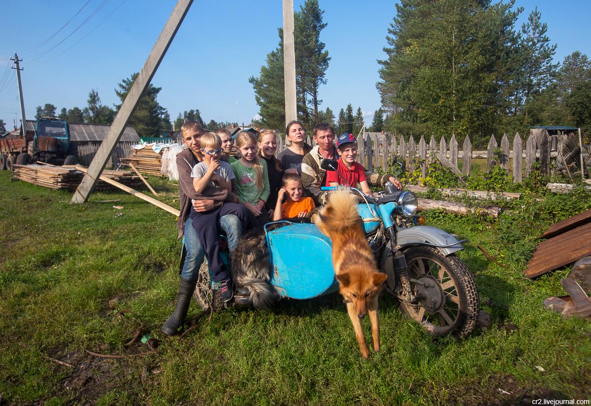 Архангельская область. Несколько фоток из кенозерского посёлка Поча