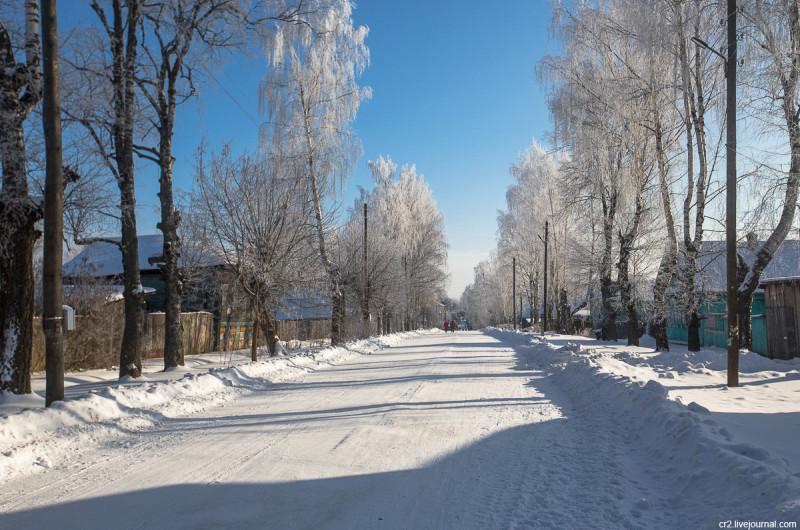 Морозный Тутаев Ярославская область
