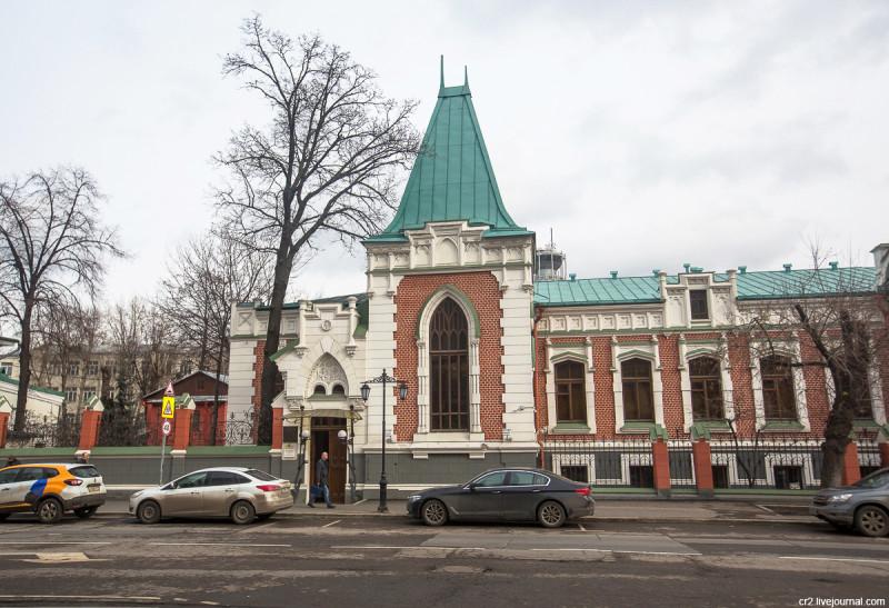 Московская готика. Особняк Бахрушина Москва