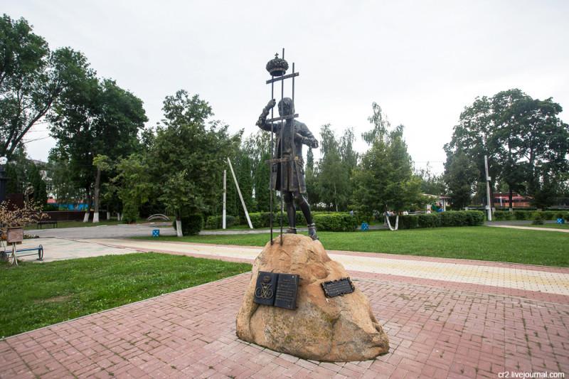 Памятник Иоанну VI Антоновичу. Чаплыгин, Липецкая область
