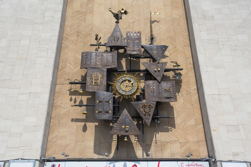Часы Театра кукол имени Образцова