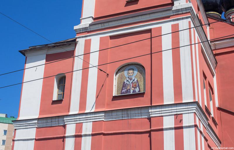 Церковь Николая Чудотворца на Болвановке. Москва