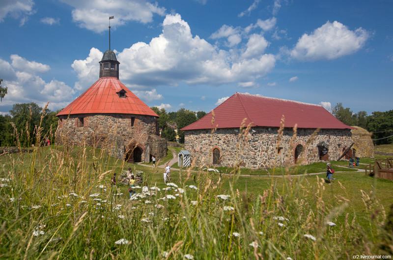 Крепость Корела, она же Кексгольм. Приозерск, Ленинградская область